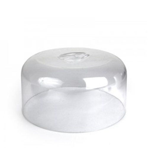 Dalebrook SAN Lid with Recessed Handle 270 x 117mm Clear