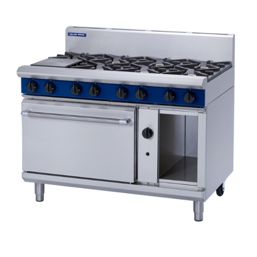 Blue Seal Gas Cooktop Oven Range G508D Stainless Steel