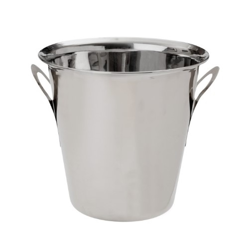Beaumont Stainless Steel Tulip Ice Bucket 4.5Ltr Silver