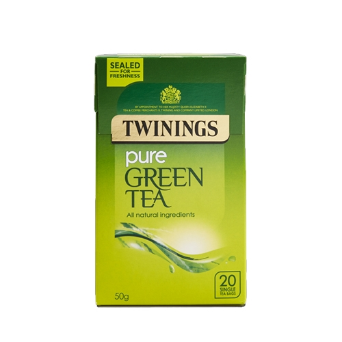 Twinings Pure Green  Enveloped Tea Bags 20 Envelopes