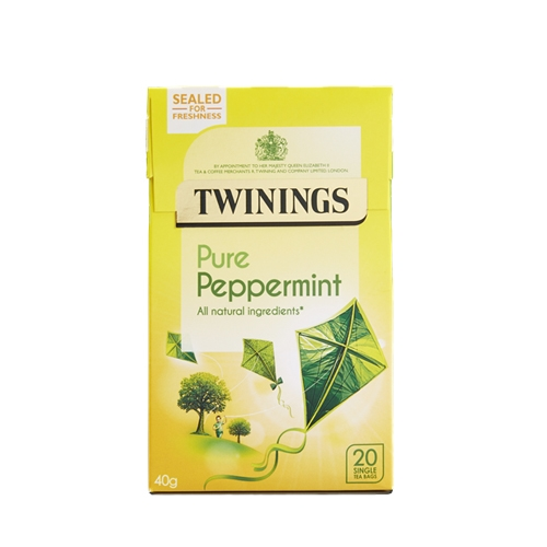 Twinings Peppermint  Enveloped Tea Bags 20 Envelopes