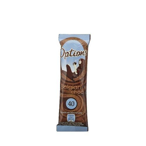 Options Belgium  Hot Chocolate 11g