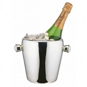 Elia Stainless Steel Curved Design Wine Bucket 6.25