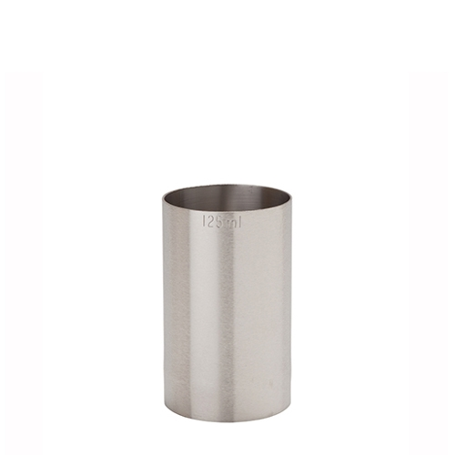 Beaumont Stainless Steel Thimble Measure 125ml CE Silver