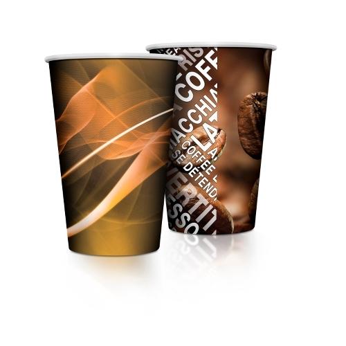 Benders Venezia  Tall Paper Cup 9oz Brown