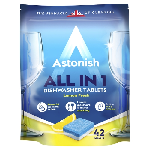 Astonish  All in 1 Dishwasher Tablets 42 tablets