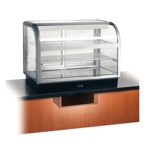 Lincat Refrigerated Food Display Case C6R/100 Dark Grey
