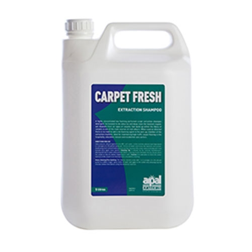 R P  Adam  Carpet Fresh  Hot Water Extraction Shampoo 5Ltr