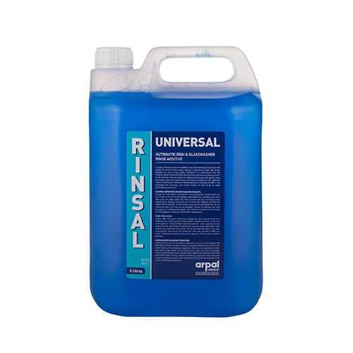 R P  Adam  Rinsal  Universal  Glass Rinse Aid 5Ltr
