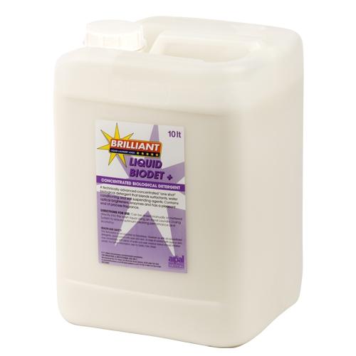 R P  Adam  Brilliant  Liquid Biodet Plus Anti Bac Laundry Detergent 10Ltr