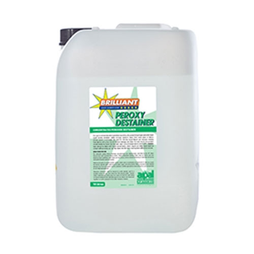 R P  Adam  Brilliant  Destainer Peroxy Destainer (35%) 1x10Ltr