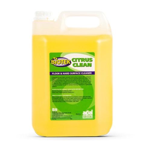 R P  Adam  Biotek   Citrus Bactericidal Hard Surface Cleaner Conc. 5Ltr