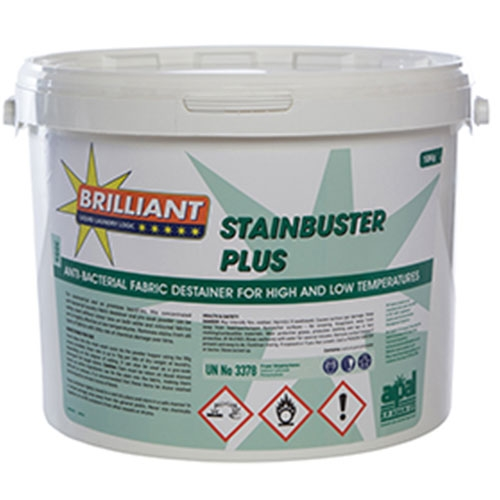 Brilliant Stainbuster Plus Anit Bacterial Fabric Destainer 10kg White