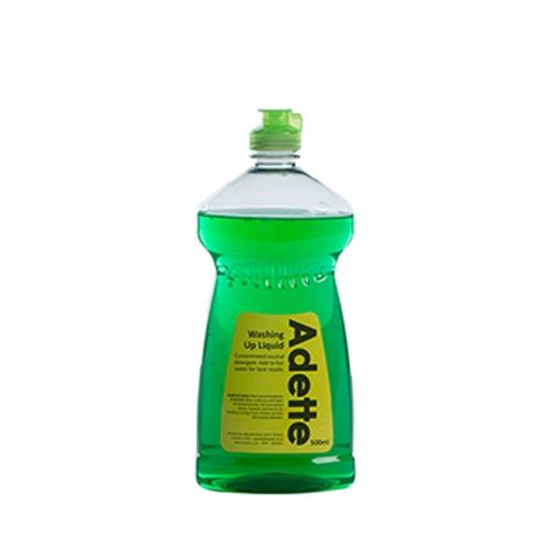 Multi Pack Adette Washing Up Liquid 500ml Green