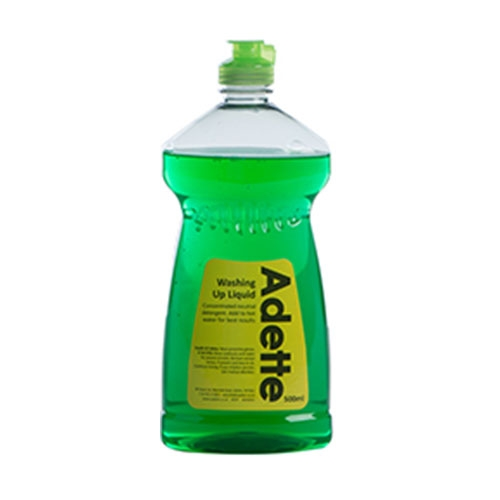 Multi Pack Adette Washing Up Liquid 500ml Green