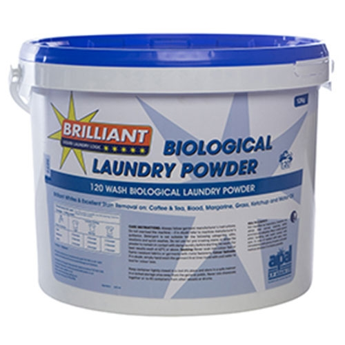 Brilliant Automatic Biological Laundry Powder 120 washes White