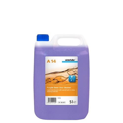 Winterhalter A14 Beerline Cleaner Indicator 5Ltr Purple