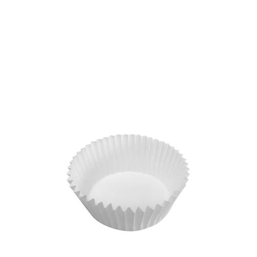 Plain Greaseproof Baking Case 4.5 x 2.5cm White