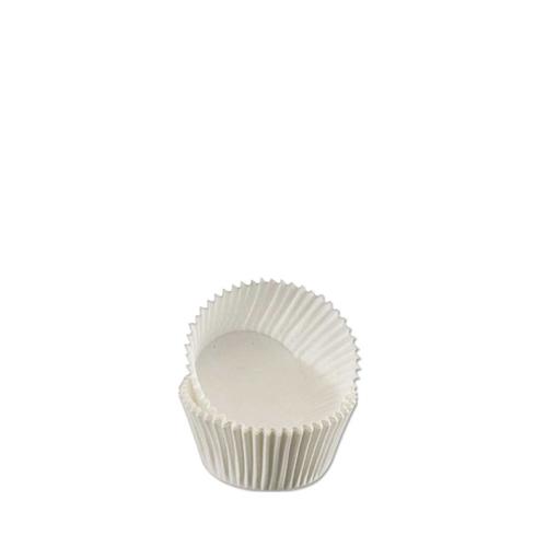 Petit Four Baking Case 2.5 x 1.9cm White