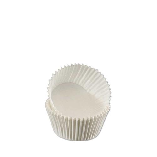 Paper Muffin Cases 5.1 x 3.8cm White