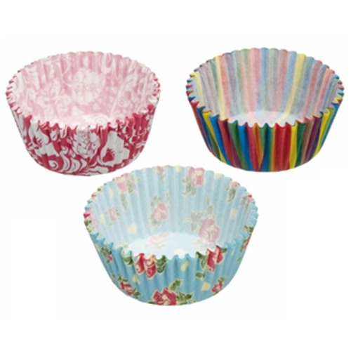 Sweetly Does It  Paper Cupcake Cases 7cm Assorted