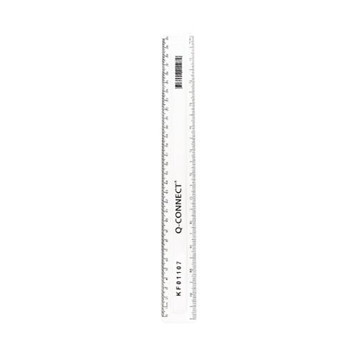Plastic Ruler 30cm Clear
