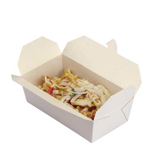 Colpac Aware Rectangle Oriental Food Box 35oz White