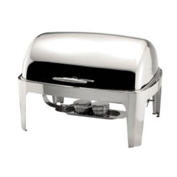 Sunnex Full Size  Roll Top Chafing Dish 8.5Ltr Stainless Steel
