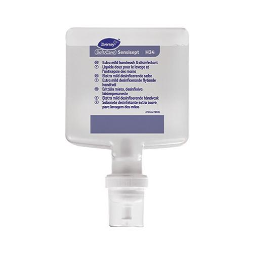 Diversey Soft Care Sensisept H34 1.3Ltr Clear