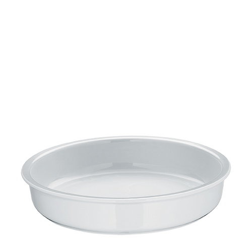 WMF Hot & Fresh Porcelain Insert for Round Chafing Dish 335mm (dia) x 70mm (h) White
