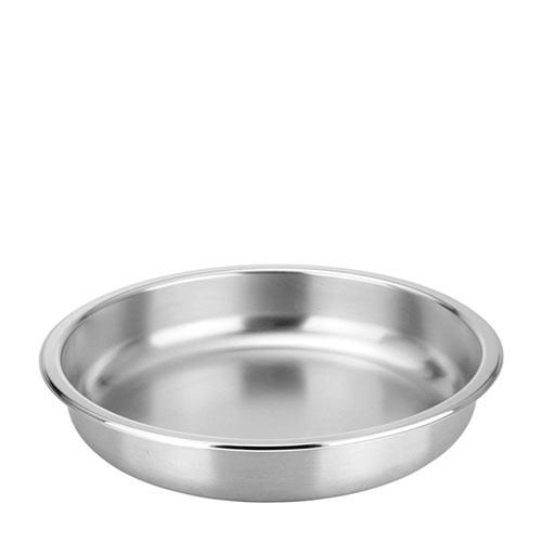 Round Food Pan for Genoa Chafer Stainless Steel