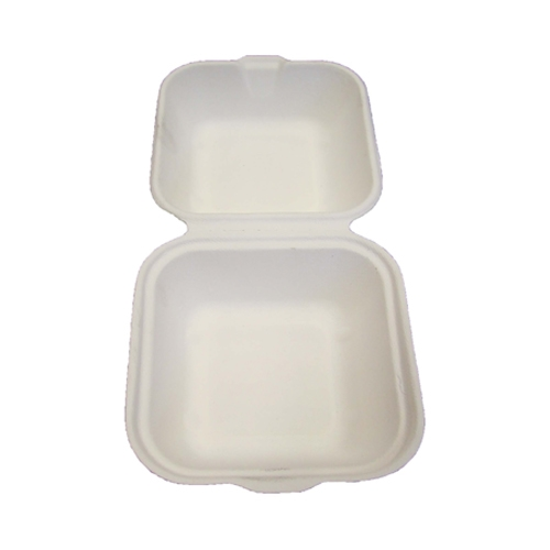 Celebration  Bagasse  Large Burger Box 6x6