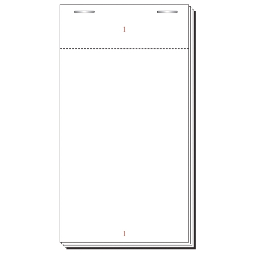 Single Copy  Check Pad 12 100 Sheet White