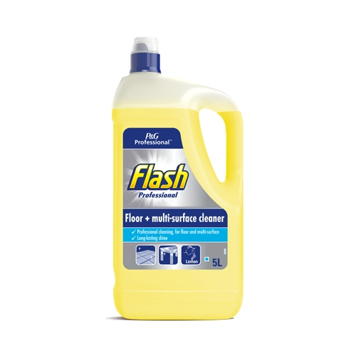 Flash Professional All Purpose Cleaner Lemon 5Ltr Yellow