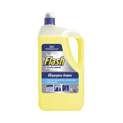 Flash Professional All Purpose Cleaner Lemon 5Ltr Yellow