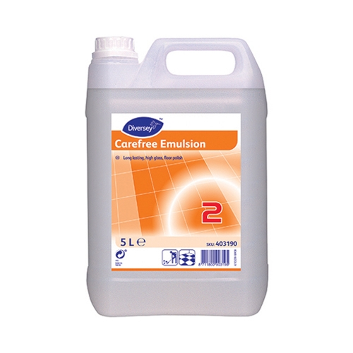 Diversey Carefree Emulsion Floor Polish 5Ltr