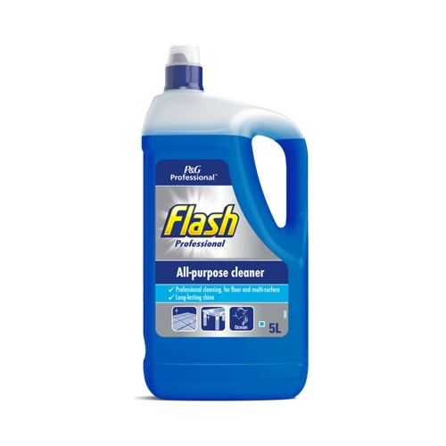 Flash Professional All Purpose Cleaner Ocean 5 Ltr Blue
