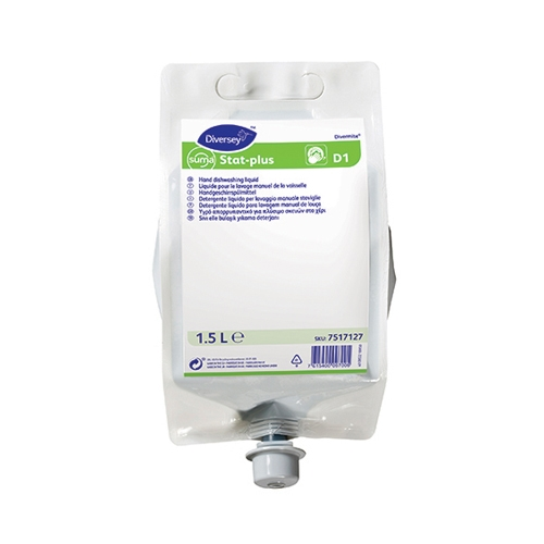 Diversey Suma Divermite D1 Suma Stat Concentrate Manual Washing Liquid