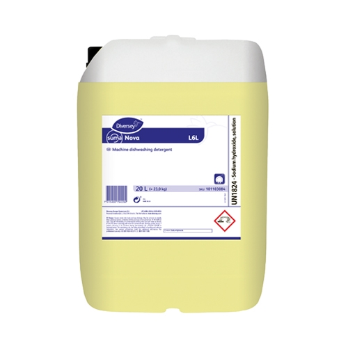 Suma Nova L6  Dishwasher Liquid Detergent 20Ltr