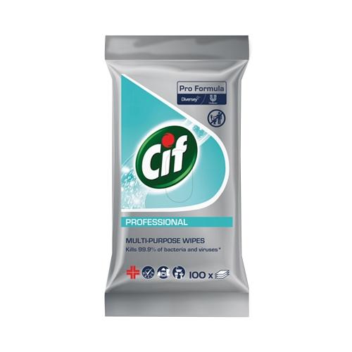 Cif Pro Formula Disinfectant Wipes