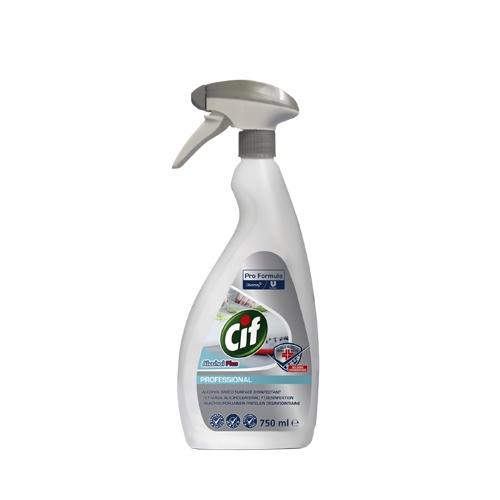 Cif Pro Formula Alcohol Plus Surface Disinfectanrt Spray 750ml
