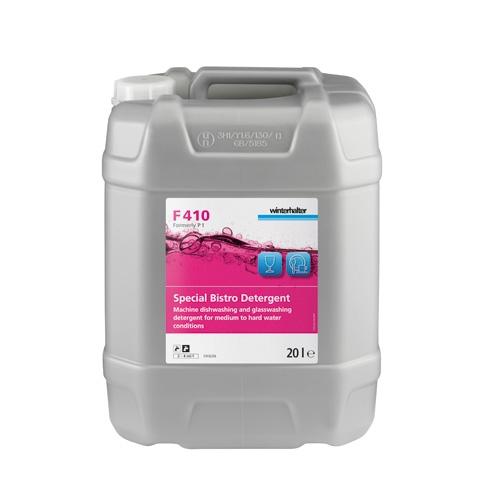 Winterhalter F410 Special Bistro Dishwashing Detergent 20Ltr