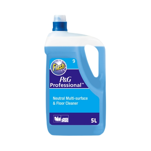 Flash Professional 9 pH-Neutral Multi Surface & Floor Cleaner 5 Ltr