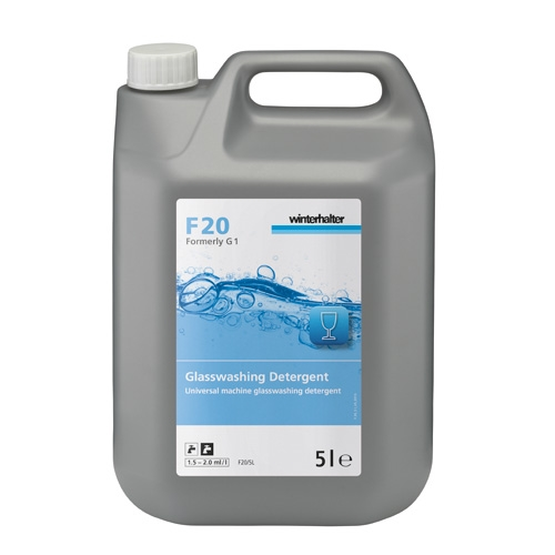 Winterhalter F20 Glasswashing Detergent 5 Ltr