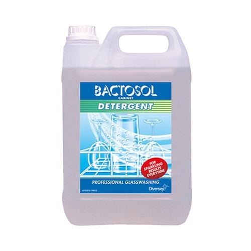 Bactosol Cabinet Glasswash Detergent 5Ltr White