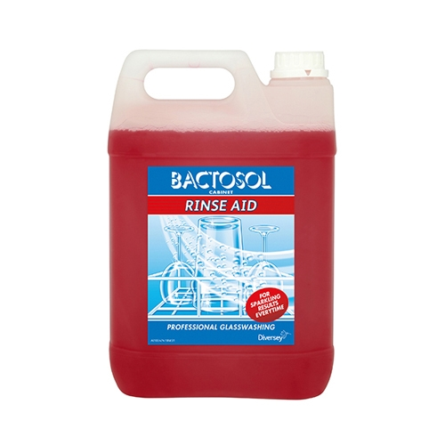 Bactosol Cabinet Glass Wash Rinse Aid
