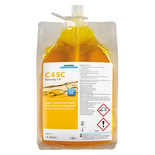 Winterhalter Super Concentrate  Heavy Duty Cleaner & Degreaser 1.5Ltr