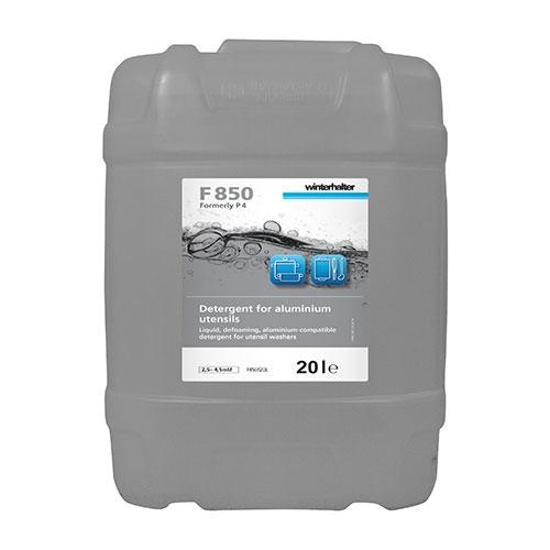 Winterhalter F850 Pan Wash Detergent for Aluminium Utensils 20Ltr