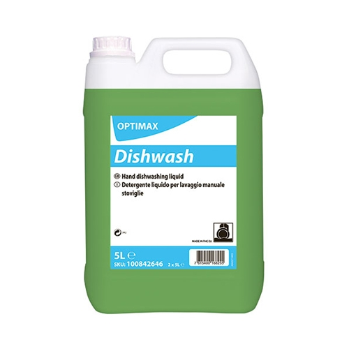 Optimax by Diversey Optimax Manual Dishwash Liquid 5Ltr
