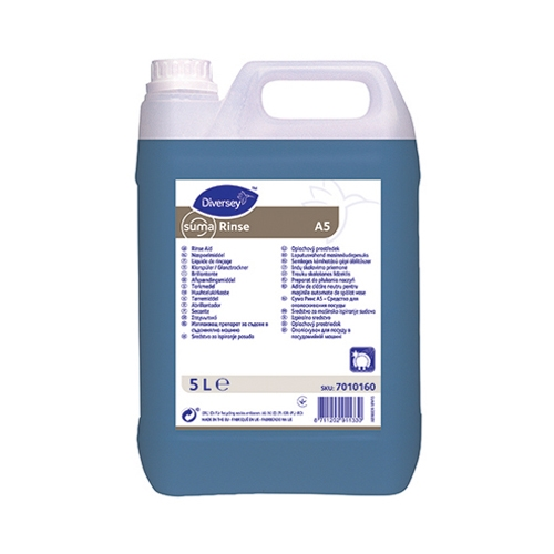 Suma Rinse  A5 Autodosed Dish & Glass Rinse Aid 5Ltr